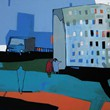 Miasto III_acrylic on canvas_70x50cm